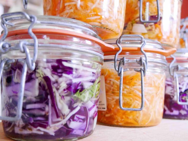 Bocaux de lacto-fermentation
