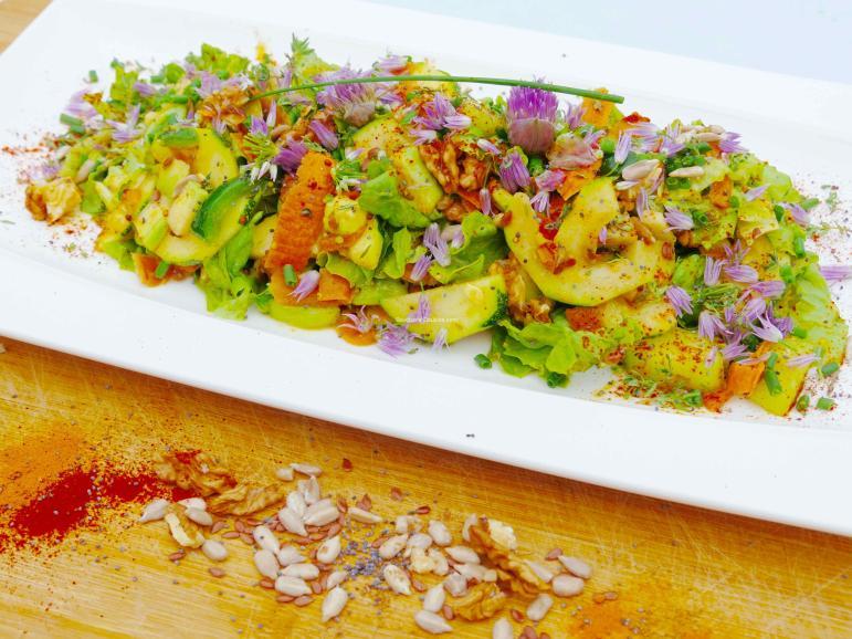 Salade vitalité en 2 textures croquante et fondante 0