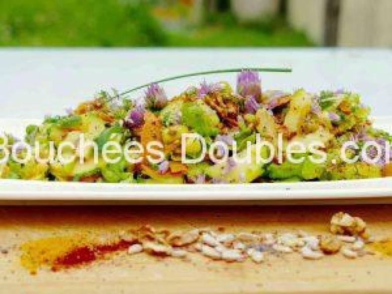 Salade vitalité en 2 textures croquante et fondante 3