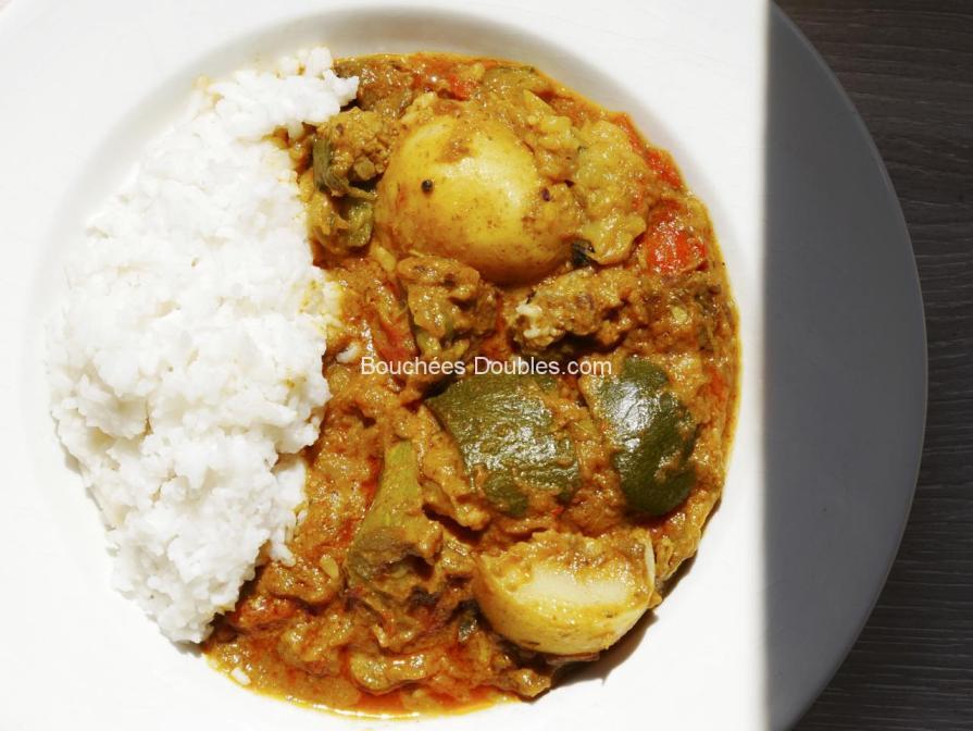Cliquez ici pour découvrir cette recette acido-basique de Colombo de légumes