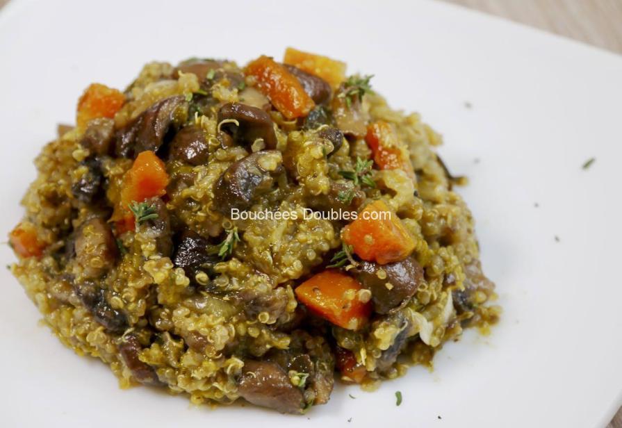 Cliquez ici pour découvrir cette onctueuse recette alcaline et gourmande de quinotto, un quinoa façon risotto. Découvrez ses atouts santé pour notre vitalité.