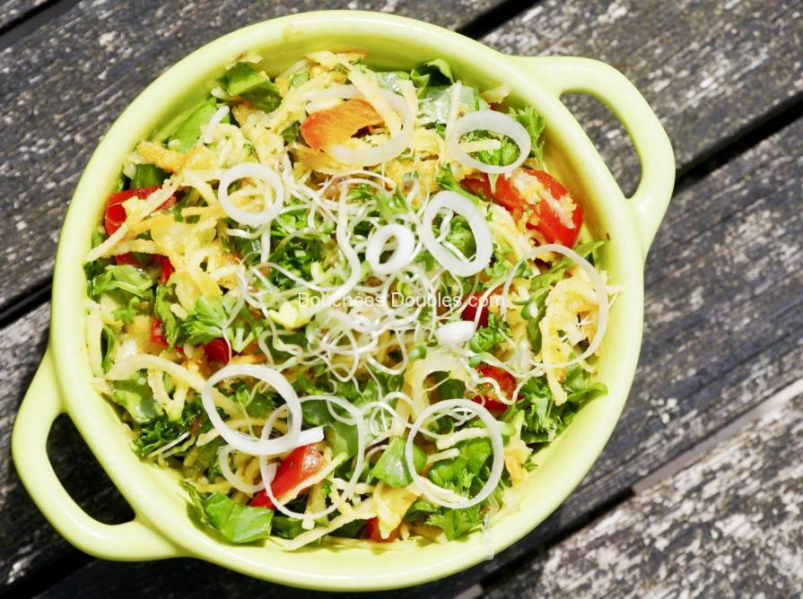Cliquez ici pour découvrir cette salade alcaline, simple, rapide, fraîche et saine, prête en 10 mn !