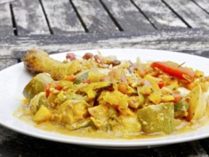 Cuisine acido-basique - assiette complète aux saveurs indiennes