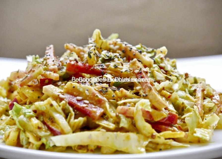 Cliquez ici et découvrez cette salade dépurative alcalinisante et pleine d'atouts santé