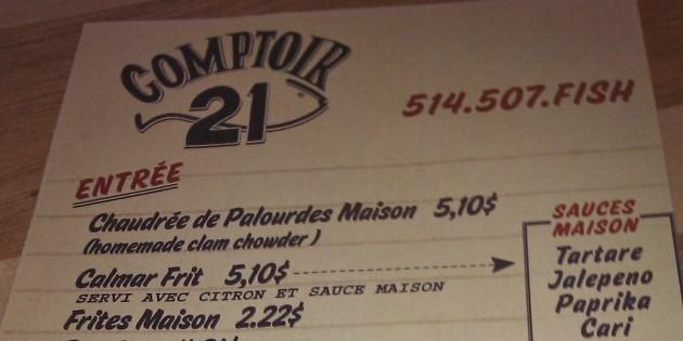 Comptoire 21
