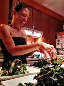 MariÈve en action dans ma cuisine