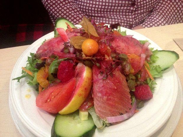 Salade truite Nouvelle-France