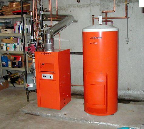 Viessmann Water Heater Install