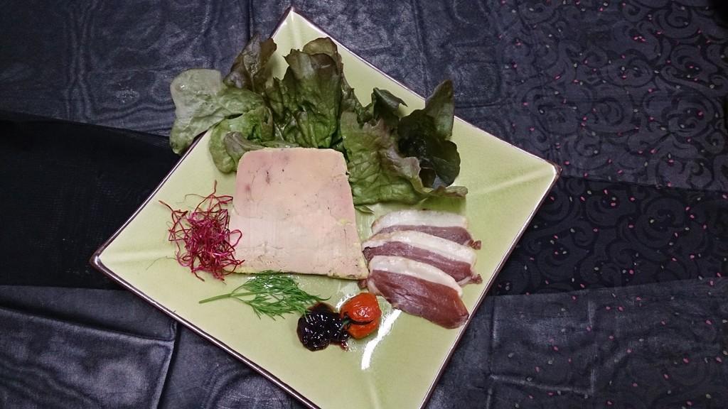 Suggestion de prsentation pour notre foie gras maison