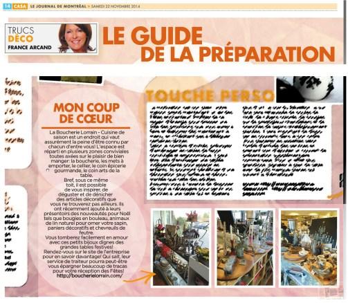 Coup de Coeur - Casa Journal de Montreal - Trucs Deco - France Arcand