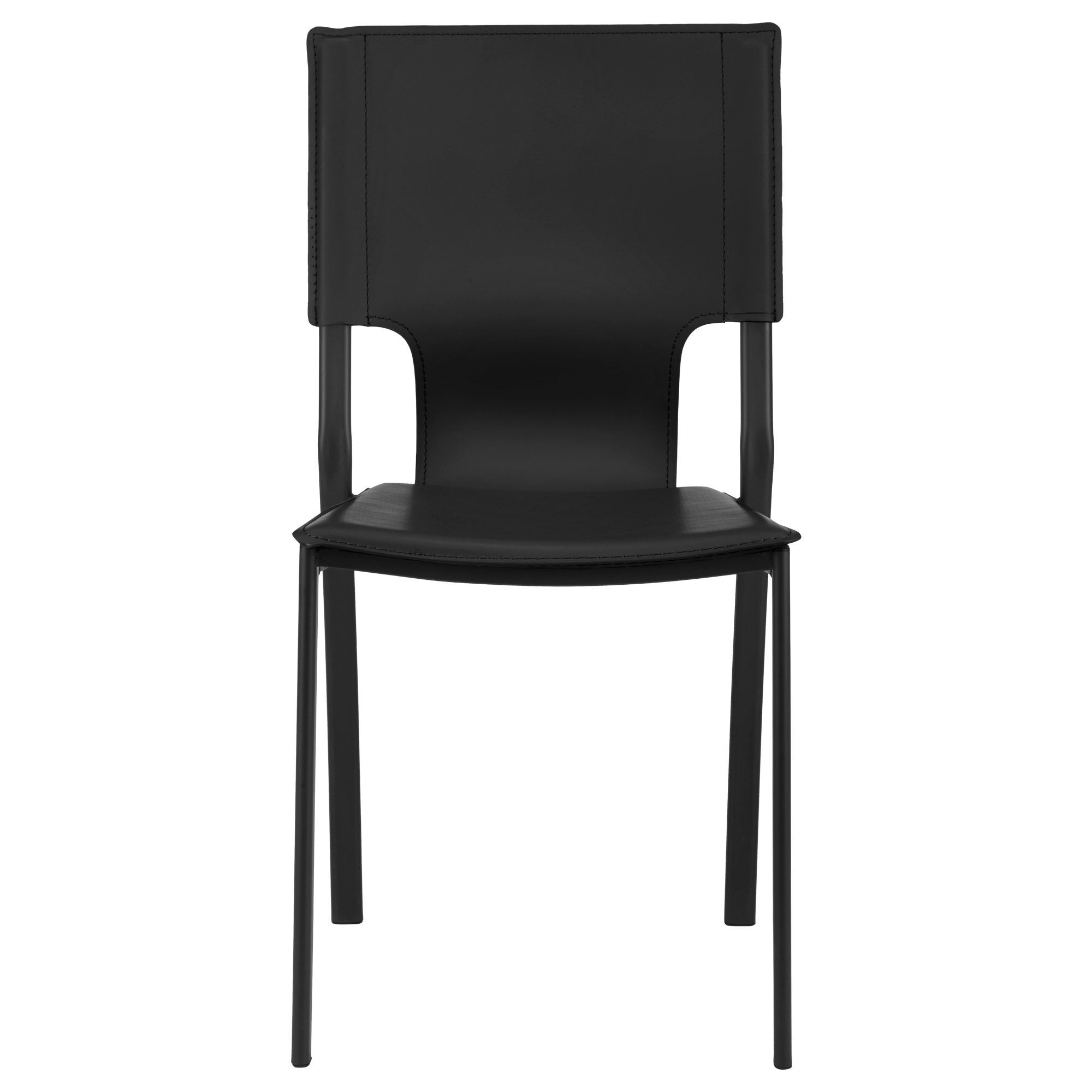 Metal And Leather Chair Faux Leather And Metal Dining Chair Bouclair