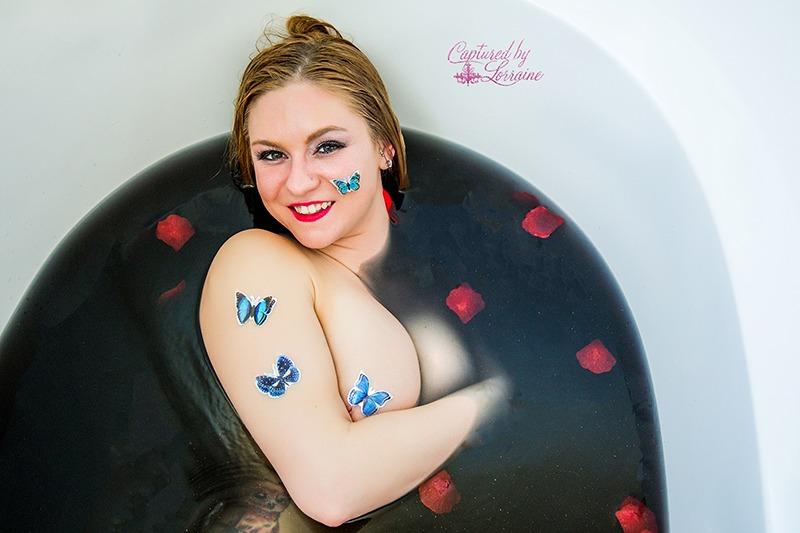 16 Bath Bomb Milk bath Boudoir Butterflies