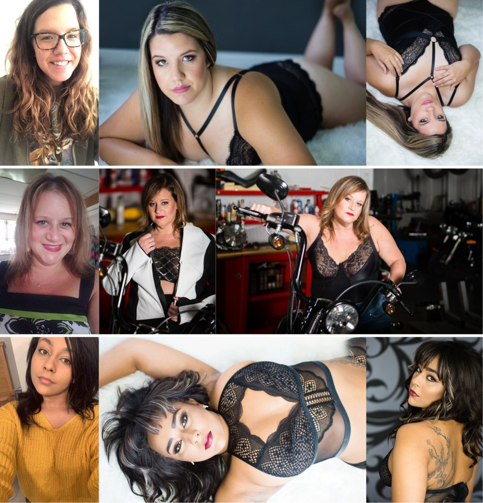 befor & after images michigan boudoir photographer