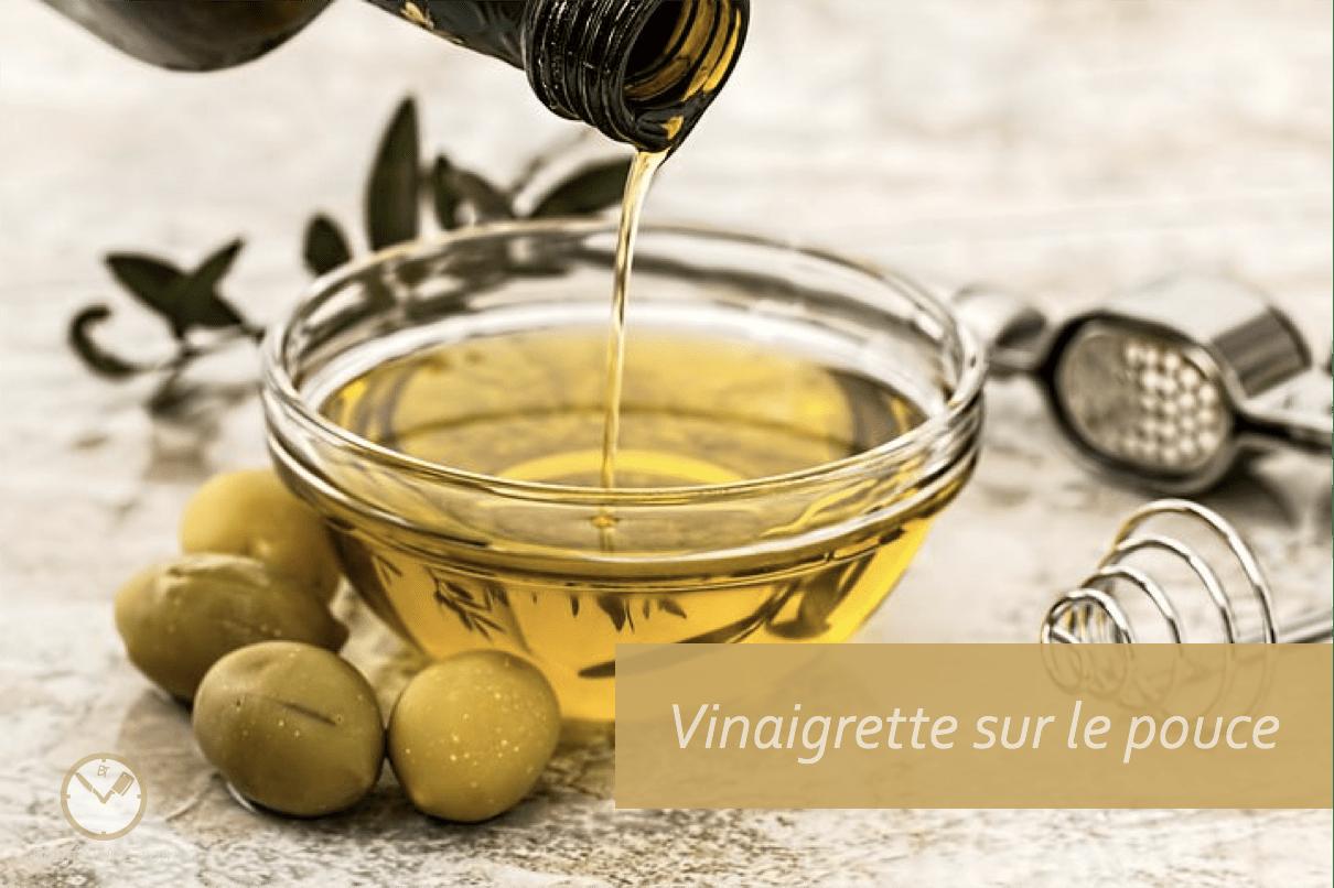 Recette de vinaigrette sur le pouce | BouffeTIME!
