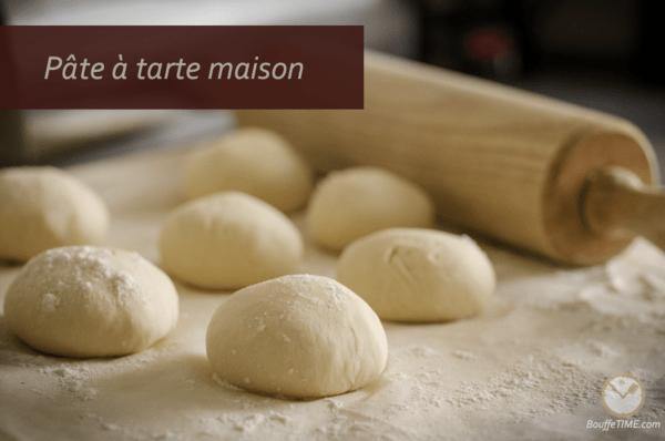 Recette de pâte à tarte maison | BouffeTIME!