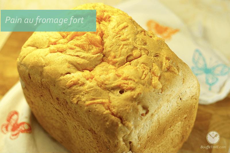 Ma bonne recette de pain au fromage fort | BouffeTIME!