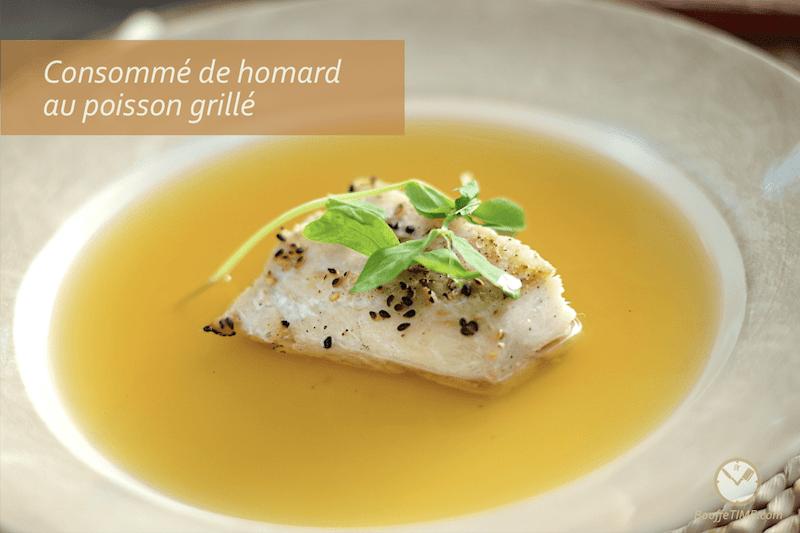 Recette de consommé de homard | BouffeTIME!