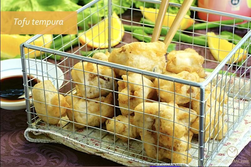 Recette de tofu tempura | BouffeTIME!