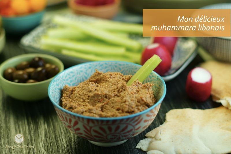 Recette de muhammara libanais | BouffeTIME!