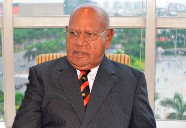 President Momis