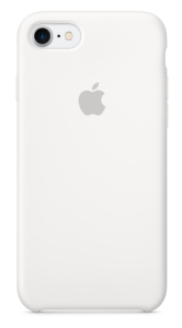 click on Image to purchase white iPhone case from Apple