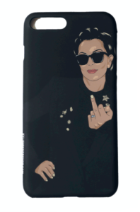 Click image to purchase Kris Jenner iPhone case from the Kylie Shop