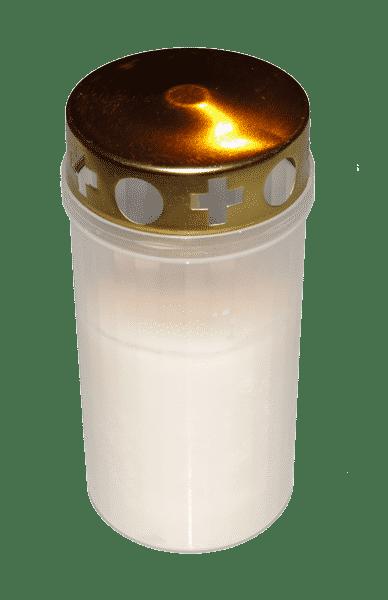 La Neuvaine Veilleuse d'exterieur blanche par bougie vip