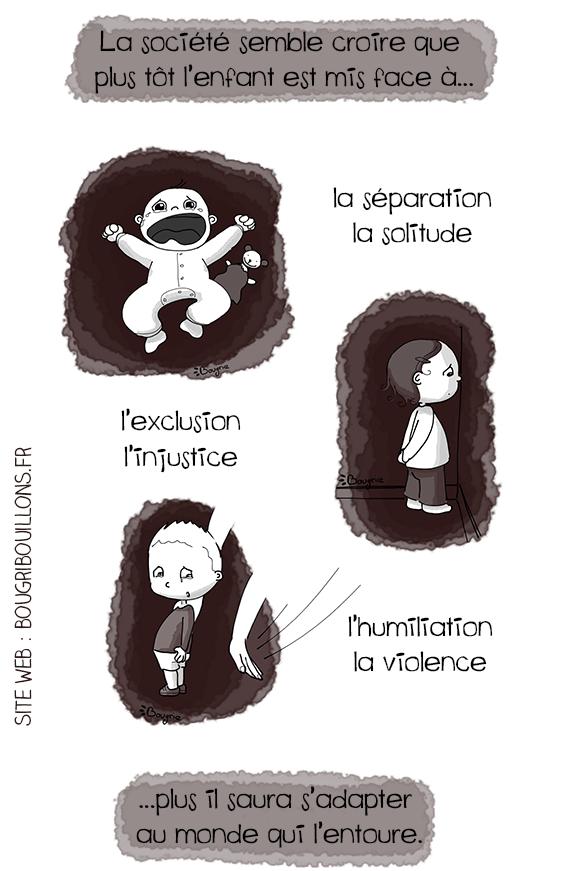 habituer les enfants très tôt