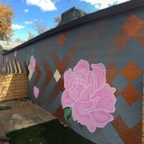 Tony Garcia's mural for Creative Neighborhoods