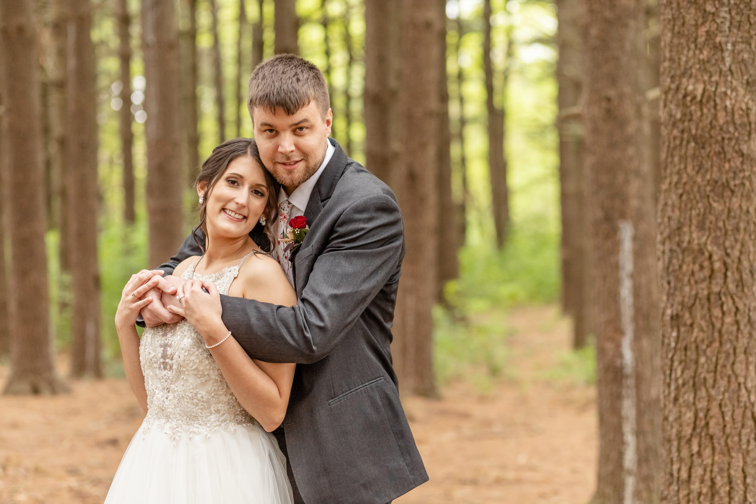 bride and groom, happy couple, southern illinois photography