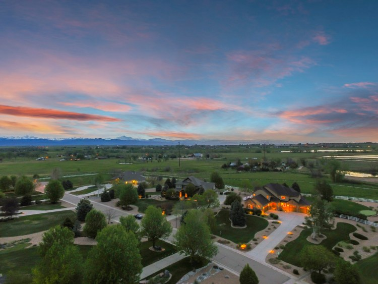 Aerial Twilight Photography