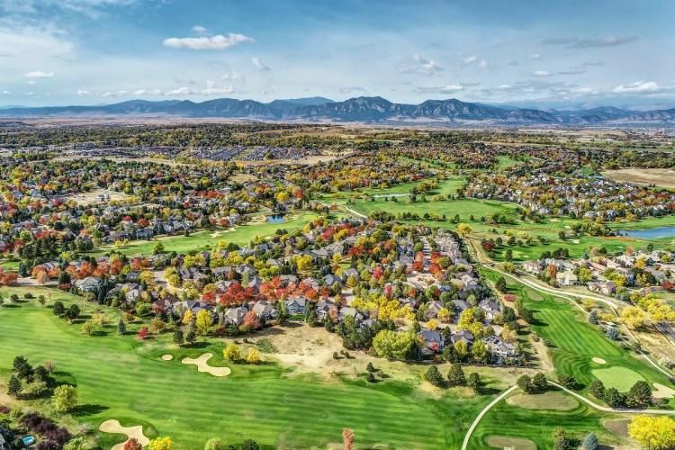 Indian Peaks Golf Course - Lafayette, Colorado