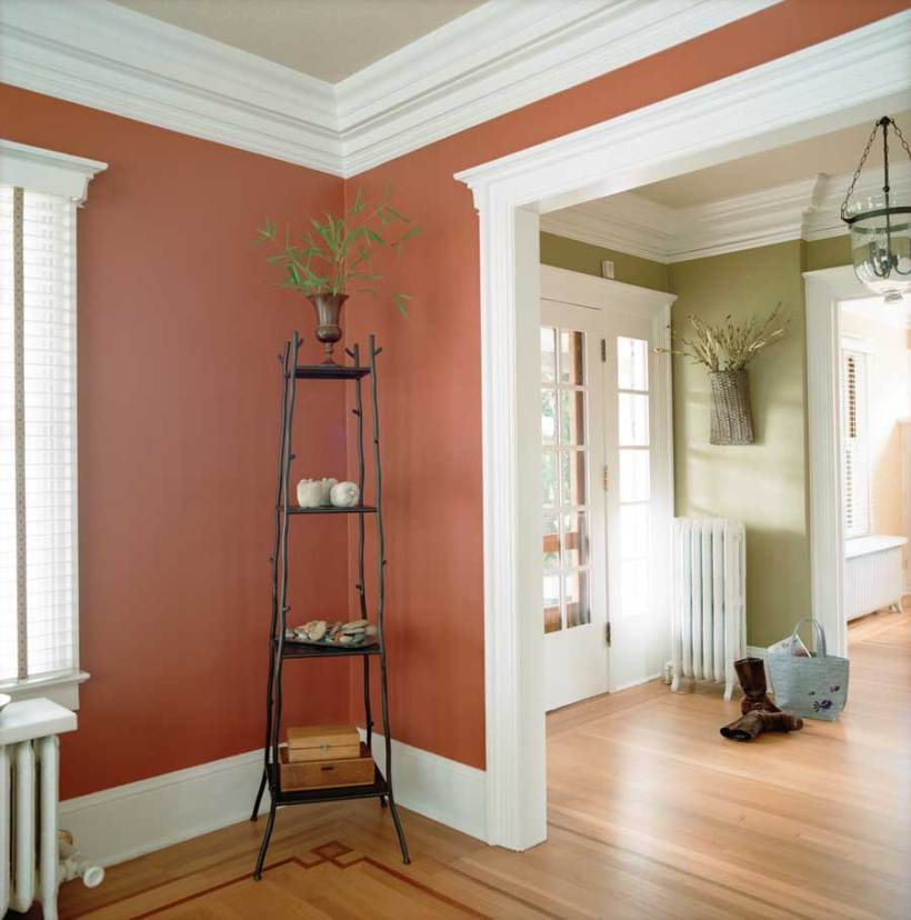 How to paint ceiling walls and trim for How to paint trim