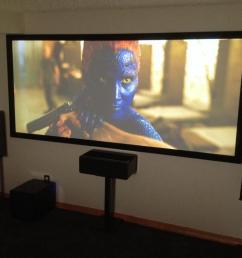 cinemascope projection theater in boulder basement  [ 1067 x 800 Pixel ]