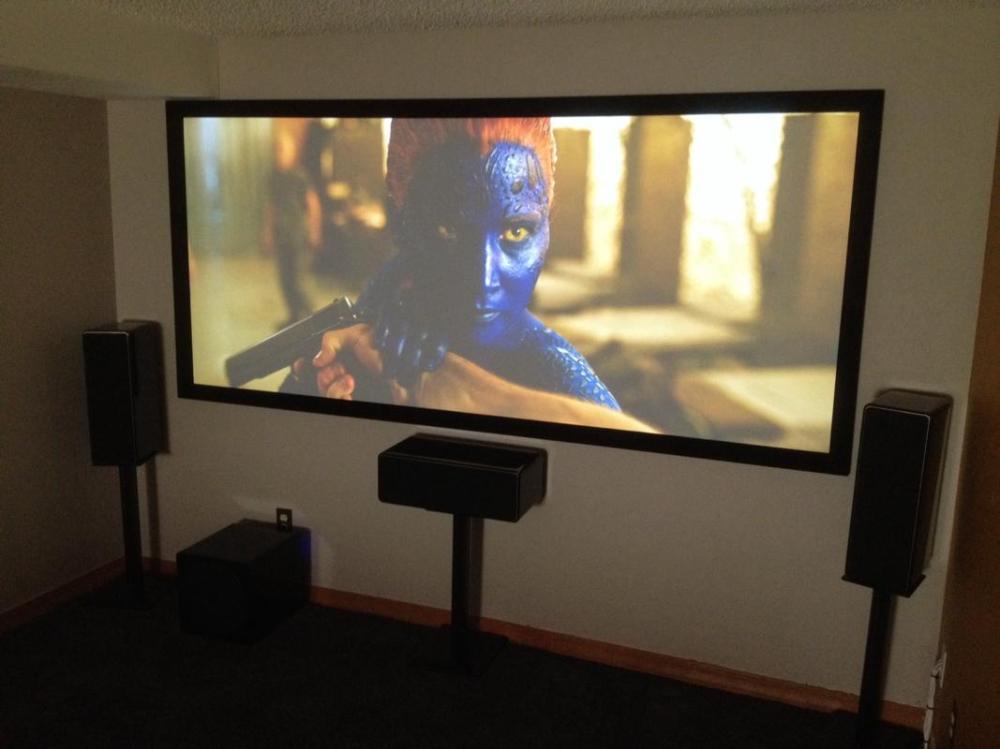 medium resolution of cinemascope projection theater in boulder basement
