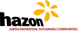 Hazon Logo with Tagline Color - 300x120