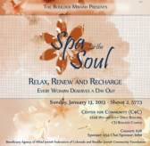 Spa for the Soul - Relax, Renew and Recharge