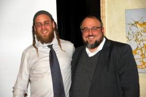 The Two Aishes:  Rabbi Gavriel Goldfeder of Boulder Aish Kodesh and Rabbi Yaakov Meyer of Denver Aish Ahavas Yisroel