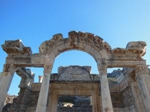 Temple of Hadrian- Ephesus