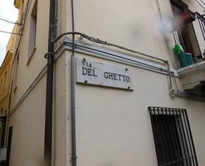Street Sign in former Jewish Quarter