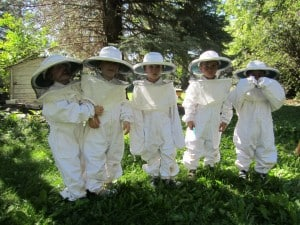 Bugs, Butterflies, Bees Camp with Growing Gardens.