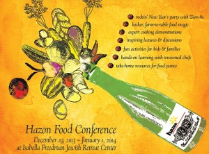 Hazon Food Conference 2013 image