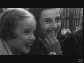 Still image from Theresienstadt: A Documentary Film from the Jewish Settlement (Kurt Gerron, 1944-1945)
