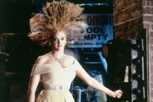 "Joa Cusack in ""Addams Famiy Values, who was also nominated for best supporting actress in Rudnick's ""In and Out."""