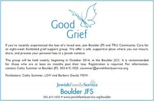 Boulder grief flyer Oct 2014