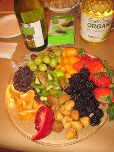 Tu B'Shvat fruits.