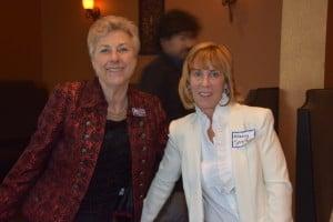 BJFF Director Kathryn Bernheimer with Nancy Spielberg
