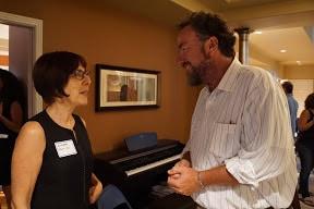 Liora Meron and Eric Lombardi