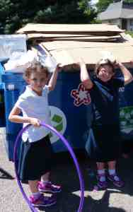 A grant from Hazon helped launch the recycling program at Denver Academy of Torah.