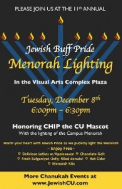 Chanukah at CU